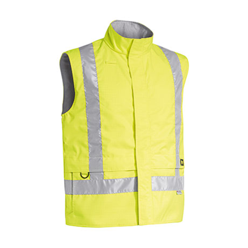 Bisley | 3M Taped Hi Vis Anti Static Wet Weather Vest | BV0363T