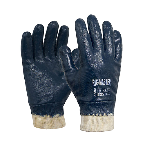 Esko | Rig Master Nitrile Gloves | Carton of 120 Pairs