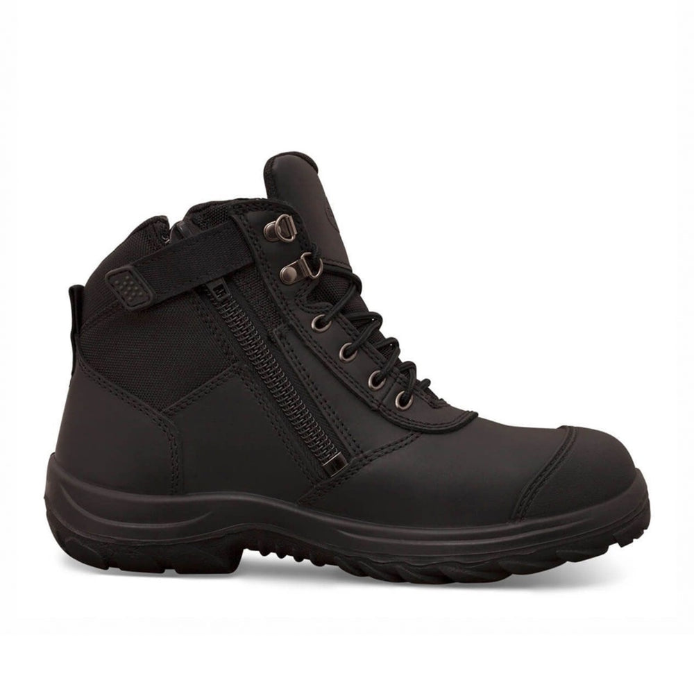 Oliver | Zip-Sided Ankle Safety Boot