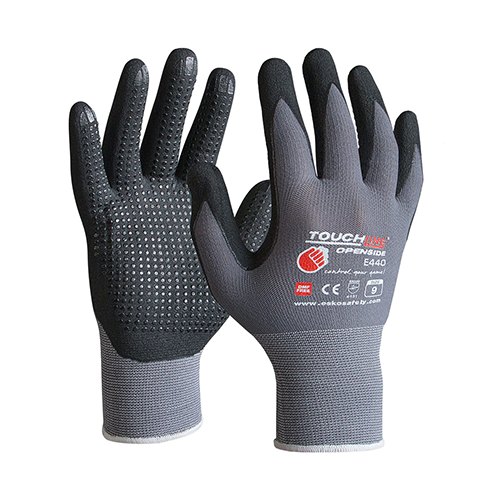 Esko | Openside Touchline Gloves with Micro Dots | 12 Pairs