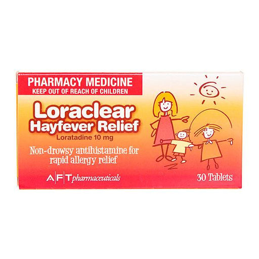 Loraclear Hayfever Relief Tablets