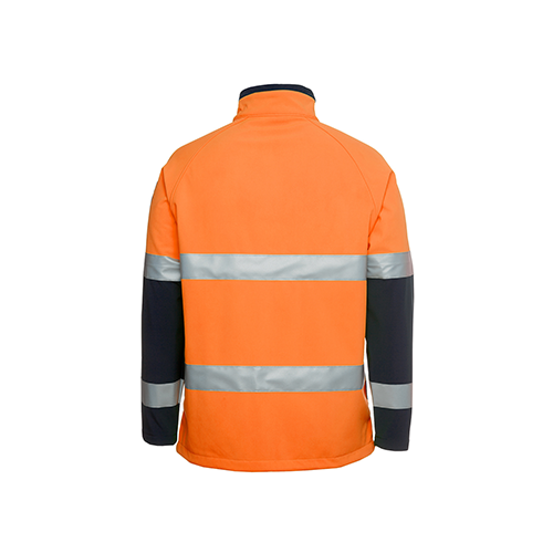 JBs Wear | Hi Vis Day & Night Softshell Jacket | 6D4LJ