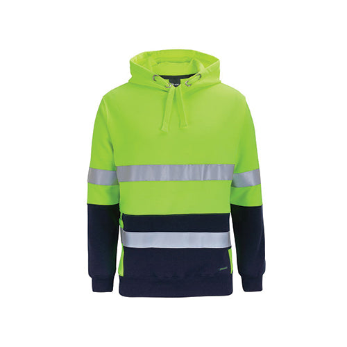 JBs Wear | Hi Vis 330g Day & Night Pull Over Hoodie | 6DPJ