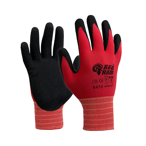 Esko | Red Ram Latex Gloves | Carton of 120 Pairs