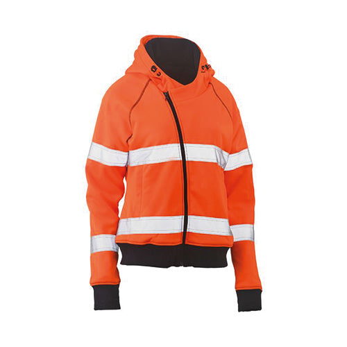 Bisley | Womens Taped Hi Vis Fleece Hoodie | BKL6819T