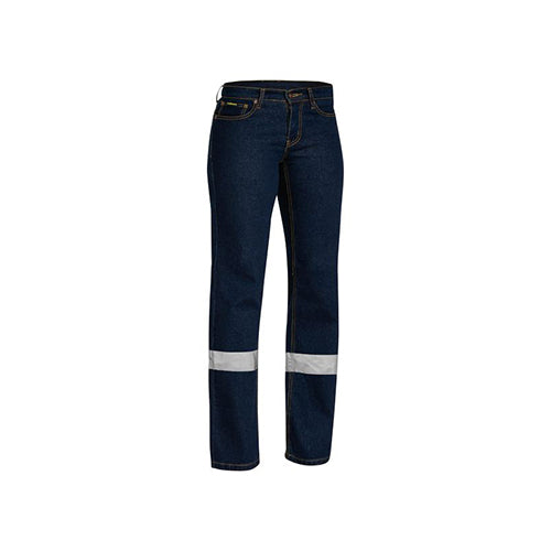 Bisley | Womens Taped Rough Rider Stretch Denim Jean | BPL6712T