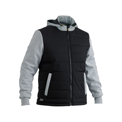 Bisley | Flex & Move™ Contrast Puffer Fleece Hoodie | BJ6944