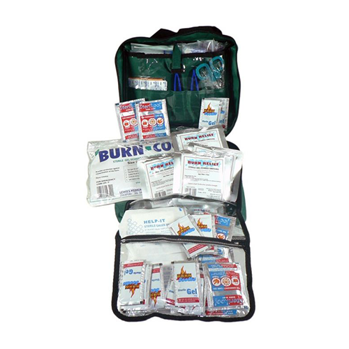 First Aid Kit | Commercial Burns Kit | Soft Pack