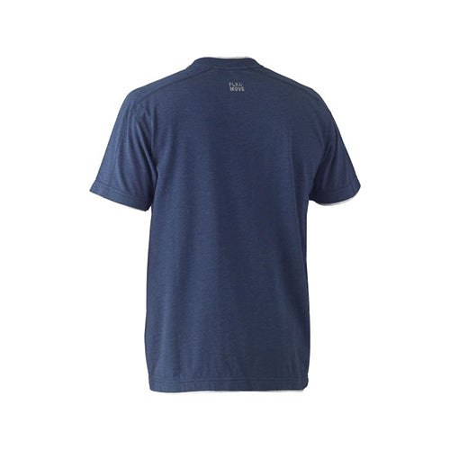 Bisley | Flex & Move Cotton V-Neck Tee | BK1933