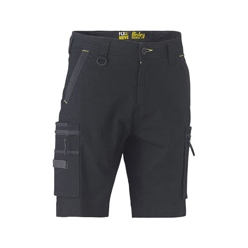 Bisley | Flex & Move Stretch Utility Zip Cargo Short | BSHC1330