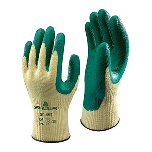 Showa KV2R Nitrile Grip Cut 4 Gloves | Packet of 10 Pairs