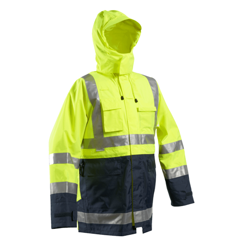 Tuffviz | HI Vis Wet Weather Two Tone Jacket | Highway