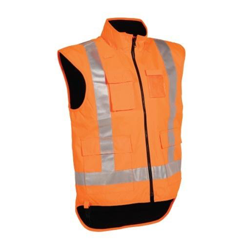 Tuffviz | HI Vis Wet Weather Vest | Highway