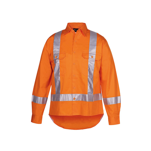 JBs Wear | Hi Vis Day & Night Long Sleeve 150g TTMC-W17 Shirt | 6DTLS