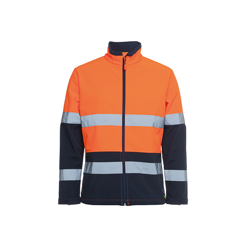 JBs Wear | Hi Vis Day & Night Water Resistant Softshell Jacket | 6DWJ