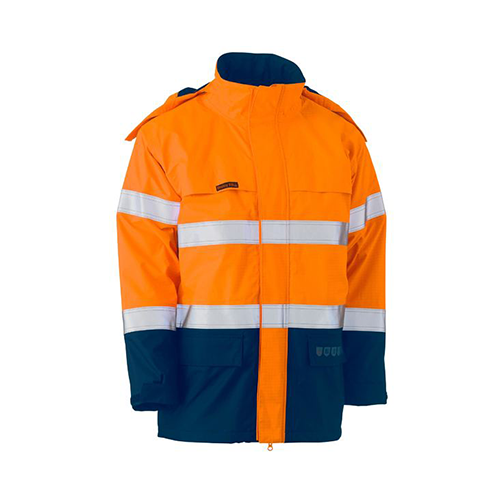 Bisley | Hi Vis FR Wet Weather Shell Jacket | BJ8110T