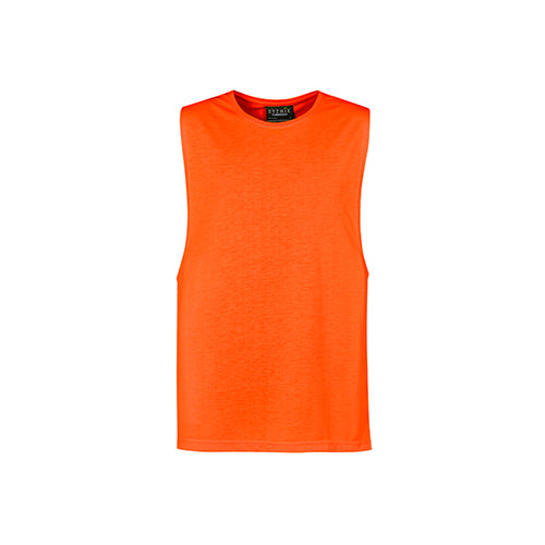 Syzmik Workwear | Mens Hi Vis Sleeveless Tee | ZH297