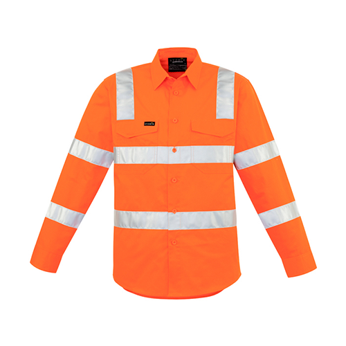 Syzmik Workwear | Mens Bio Motion Vic Rail Shirt | ZW680