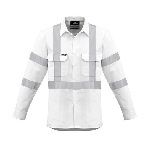 Syzmik Workwear | Mens Bio Motion X Back Taped Shirt