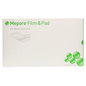 Mepore Film and Pad | 9cm x 20cm | Box of 30