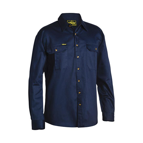 Bisley | Original Cotton Drill Long Sleeve Shirt | BS6433