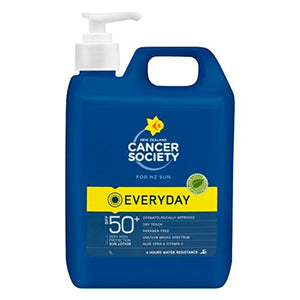 Cancer Society Sunscreen SPF50+ | 1 Litre Bottle