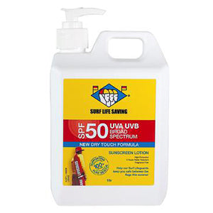 Surf Life Saving Sunscreen SPF50 | 1 Litre Pump