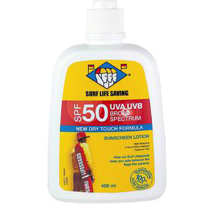 Surf Life Saving Sunscreen SPF50 | 400ML Pump