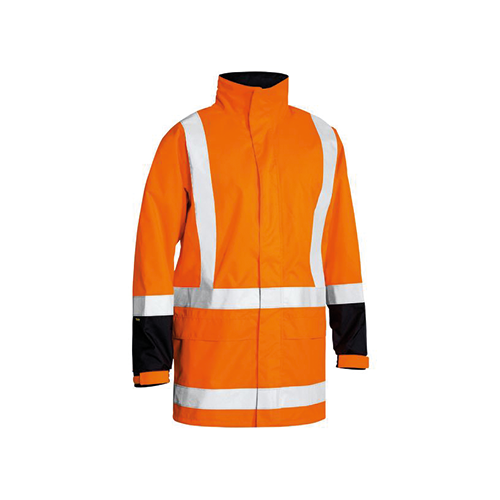 Bisley | TTMC-W Taped Hi Vis Rain Shell Jacket | BJ6967T