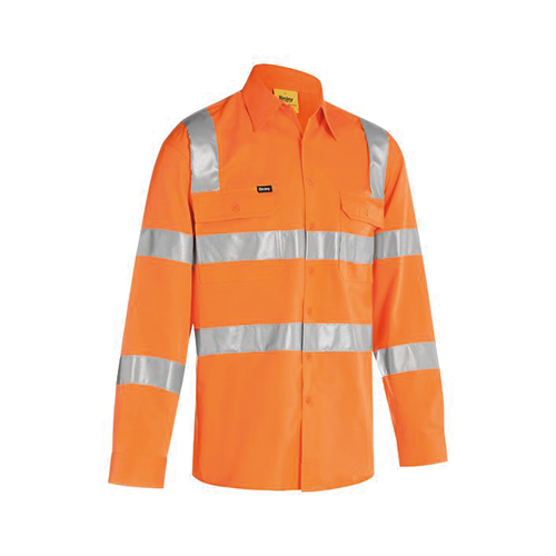 Bisley | Taped Biomotion Cool Lightweight Hi Vis Shirt | BS6016T