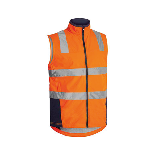 Bisley | Taped Hi Vis Soft Shell Vest | BV0348T