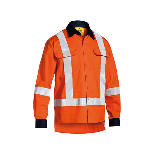 Bisley | Taped TTMC-W Hi Vis Dril Shirt | BS6248T