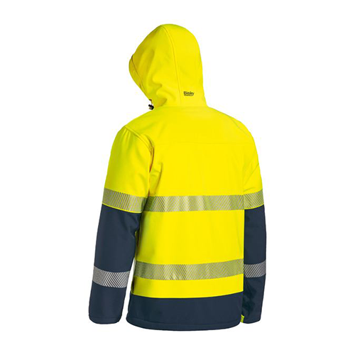 Bisley | 3M Taped Hi Vis Ripstop Bonded Fleece Jacket | BJ6934T