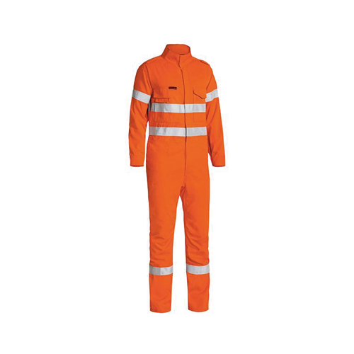 Bisley | Tencate Tecasafe Plus 700 Taped Hi Vis Engineered FR Vented Overall | BC8085T
