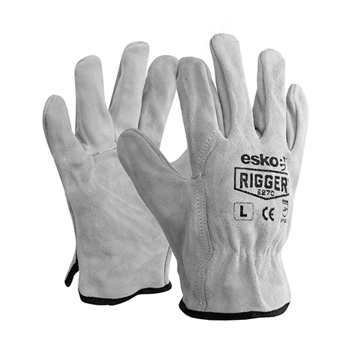 Esko | The Rigger Split Suede Gloves | 120 Pairs