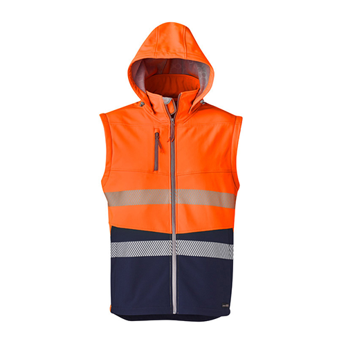 Syzmik Workwear | Unisex 2 in 1 Stretch Softshell Taped Jacket | ZJ453