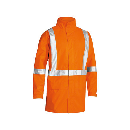 Bisley | X Taped Hi Vis Rain Shell Jacket | BJ6968T