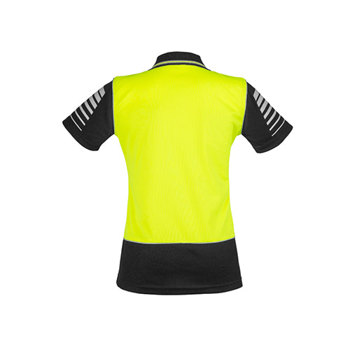 Syzmik Workwear | Womens Hi Vis Zone Polo | ZHL236