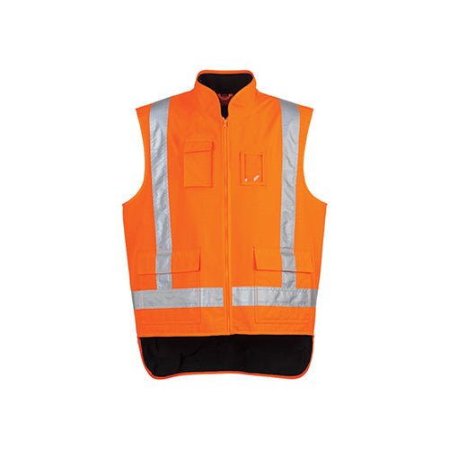 Syzmik | Mens TTMC-W17 Fleece Lined Vest | ZJ356