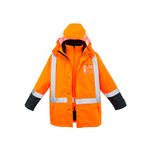 Syzmik Workwear | Mens TTMC-W 4 in 1 Waterproof Jacket | ZJ615