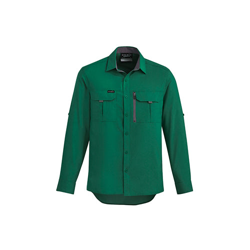 Syzmik Workwear | Mens Outdoor Long Sleeve Shirt | ZW460