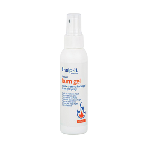 Help-It Burn Gel Pump Action Bottle | 120ml