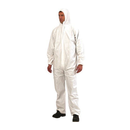 Provek | Disposable Coveralls Type 5/6  | White