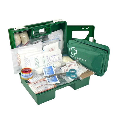 First Aid Kit | Office 1-5 Person | Plastic Cabinet