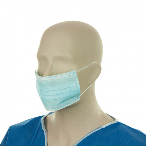 Procedure Face Mask with Earloop x 50 per Pack