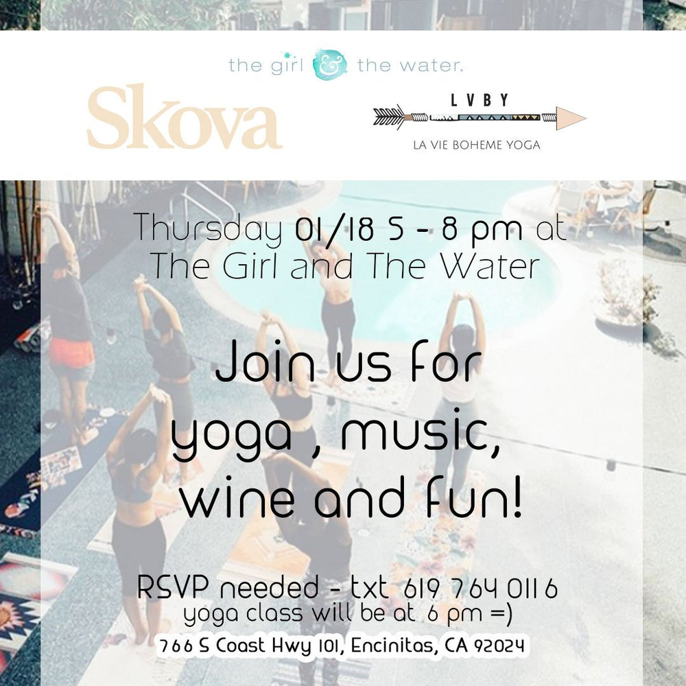 Join us for a Free Yoga class in Encinitas!
