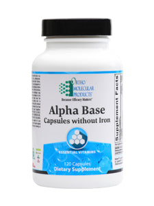 Alpha Base Capsules without Iron 120 caps