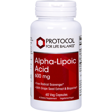 Alpha-Lipoic Acid 600 mg 60 vcaps