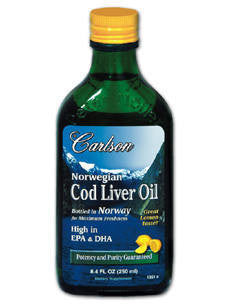 Norwegian Cod Liver Oil 8.4 fl oz (250 ml)