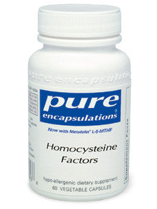 Homocysteine Factors 60 vcaps